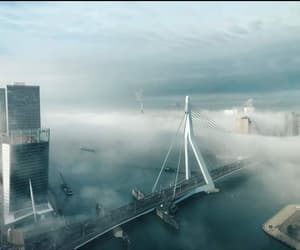 fog, holland, and rotterdam image