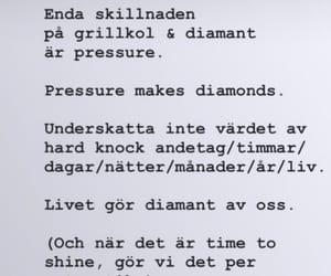 diamonds, citat, and glitter image
