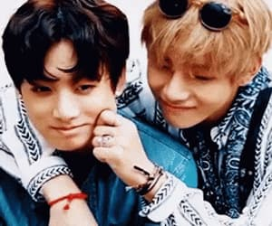gif, jhope, and taehyung image