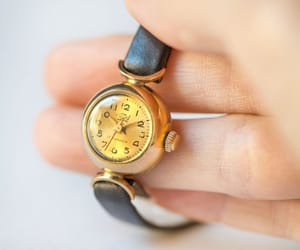 etsy, micro watch gold, and women watches image