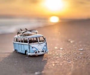 beach, van, and volkswagen image