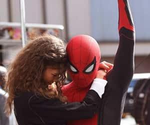 zendaya, spiderman, and peter parker image