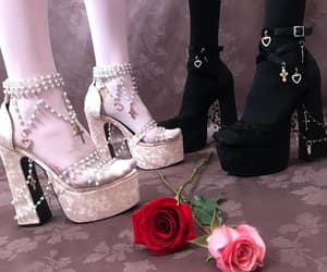 high fashion, high heels, and foot jewelry image