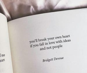 book, breaking, and heart image