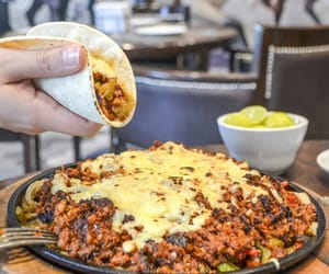 food, mexican food, and tacos image