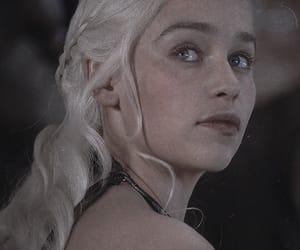 game of thrones, mother of dragons, and targaryen image