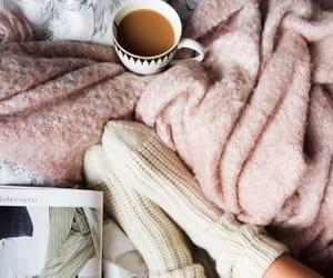 socks, coffee, and cozy image