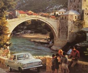 vintage, bridge, and retro image