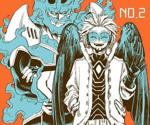boku no hero academia, hawks, and endeavor image