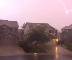 cool, Houses, and lightning image