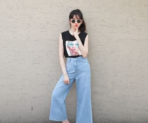 clothes, ulzzang style, and korean style image
