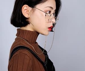 fashion, glasses, and kfashion image