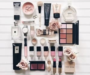 belleza, blanco, and maquillaje image