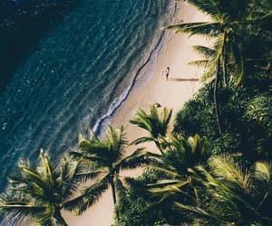 beach, nature, and paradise image
