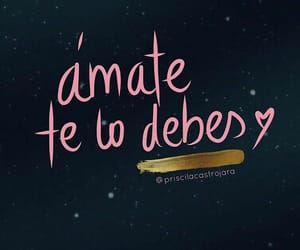 frases, quote, and amor propio image