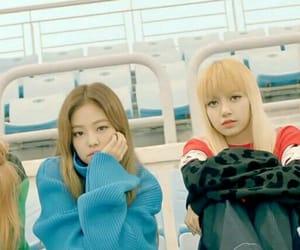 girls, korea, and jennie image