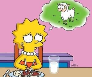 simpsons, vegetarian, and lisa image