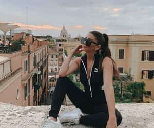 jumpsuit, puma, and rome image