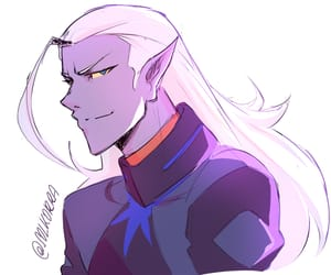drawing, evil, and prince lotor image