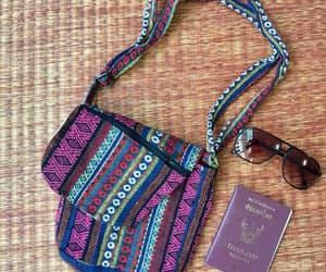 aztec, boho, and shoulder bag image