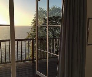 nature, sea, and window image