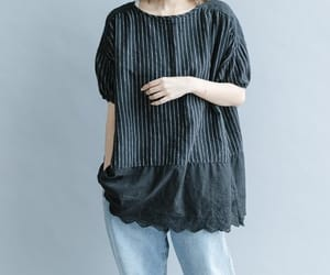 etsy, loose shirt, and cotton shirt image