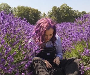 aesthetic, flowers, and girls image