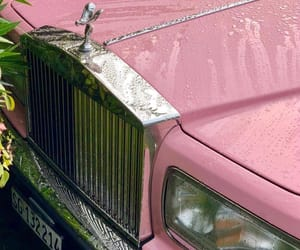 pink, cars, and vintage image