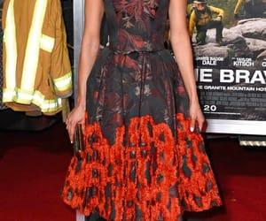 Nina Dobrev, red carpet, and only the brave premiere image