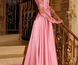 custom prom dresses, long sleeves party dress, and party dress a-line image