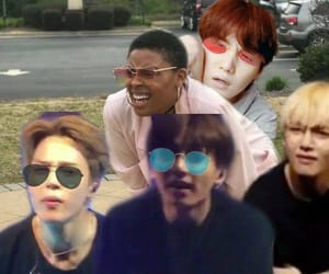 meme, bts, and pic image