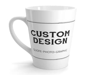 etsy, ceramic mug, and custom coffee mug image