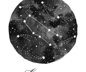 aesthetic, gemini, and zodiac sign image