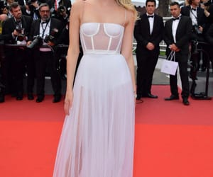 dior, Lily Donaldson, and red carpet image