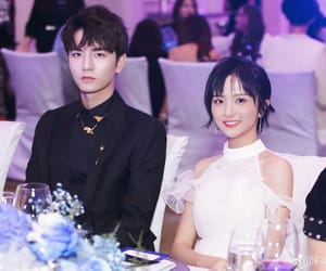 couple, photo, and meteor garden image