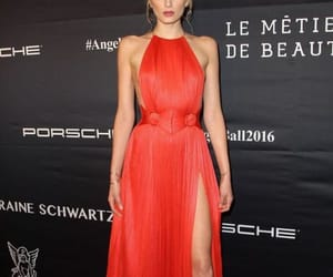 Lily Donaldson, angel ball, and red carpet image