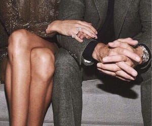 couple, rich, and hands image