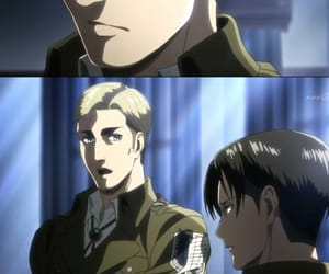 anime, Erwin, and snk image