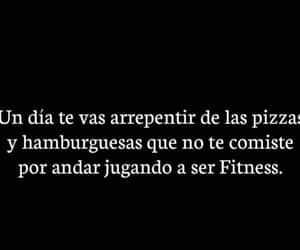 comida, fitness, and frases image