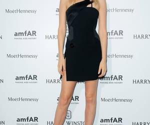 Lily Donaldson, red carpet, and amfar image