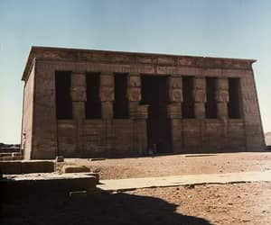 ancient egypt, hathor, and architecture image