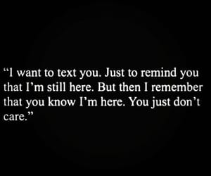 dontcare, remind, and hurt image