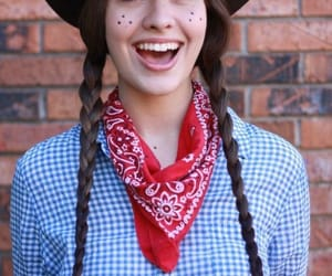 costume, Cowgirl, and Halloween image