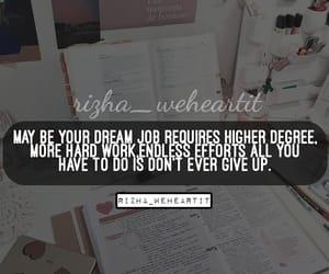 goal, hard work, and inspiration image