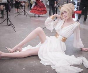 anime cosplayer, beautiful cosplay girl, and game cosplayer image