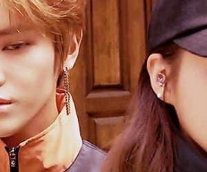 gif, taeyong, and chungha image