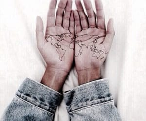 denim, hands, and nails image
