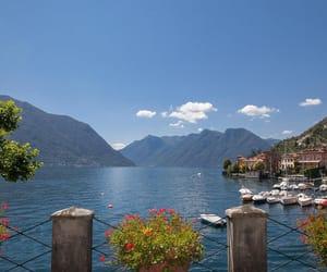 italy, amazing, and lake image