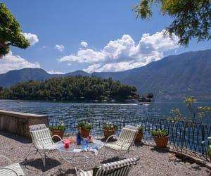 italy, vacation, and lake image