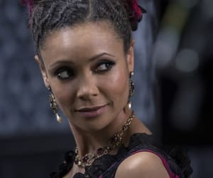 thandie newton, maeve millay, and westworld image